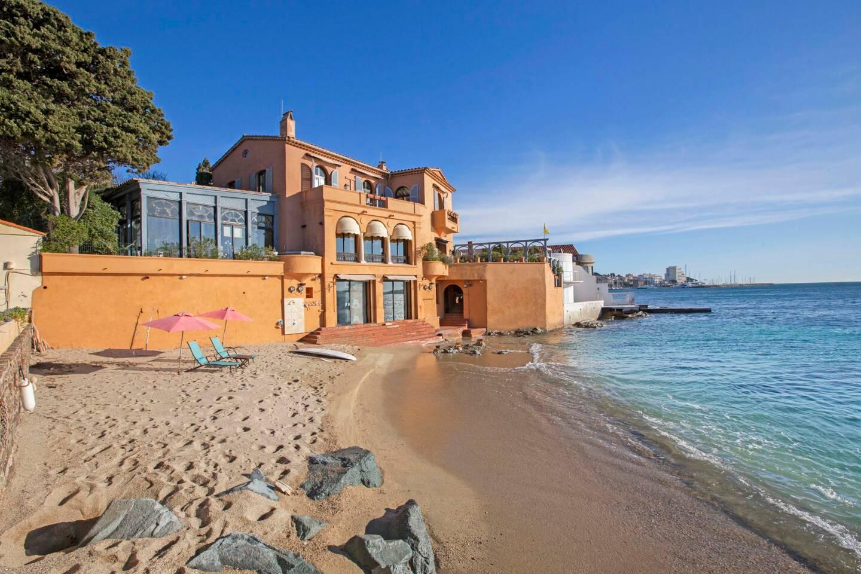 La Saudade dispose d'une plage avec un accès privé, ce qui en fait une perle rare.