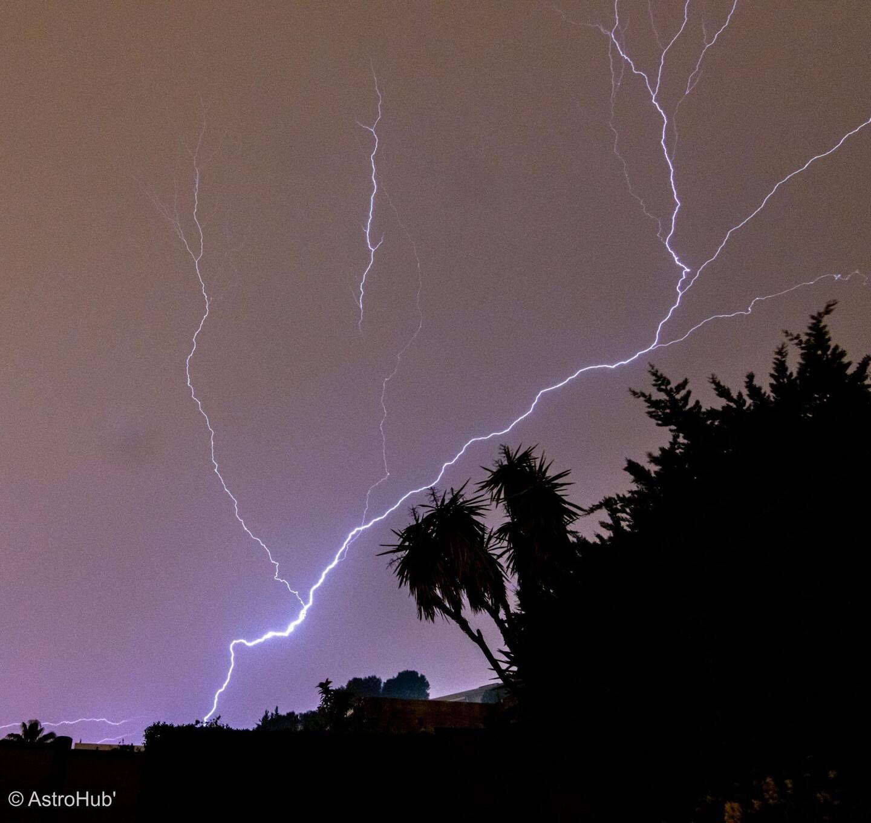 Le spectacle a été grandiose dans le ciel, au petit matin, au-dessus de Vallauris Golfe-Juan. (Photo Denis Huber)