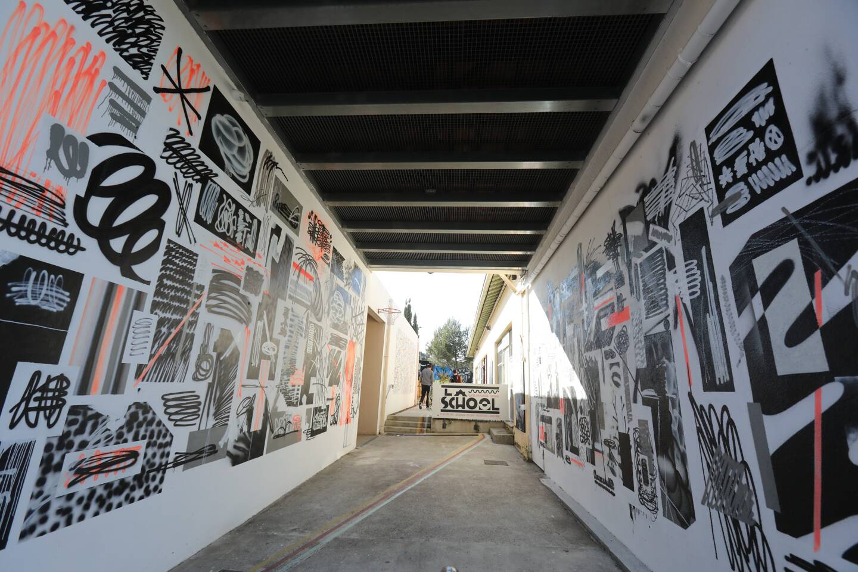 Toute une école d'art urbain existe aussi à La sChOOL du quartier Croix-Rouge sous l'impulsion de Sébastien Hamard, créateur des Nuits Carrées.