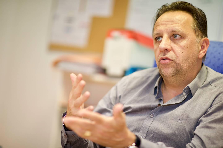 Fabien Sgarra, président de l'AMSL Fréjus depuis cinq mois, livre sa feuille de route après avoir réalisé un audit de la structure.