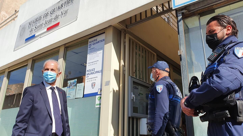 La nouvelle base de proximité de la police municipale prend place dans les locaux de la mairie de quartier à Saint-Jean-du-Var.