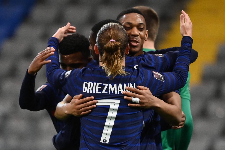 Griezmann, Martial et leurs copains seront à Nice le 2 juin.