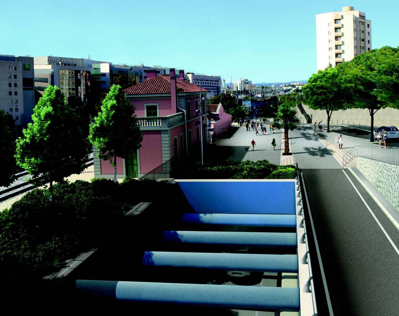 Le premier tunnel passera sous la gare Saint-Augustin.