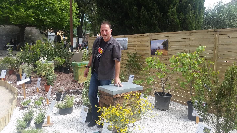 Jean-Louis Lautard, président du Syndicat des miels de Provence et des Alpes du Sud. (Photo D. G.)