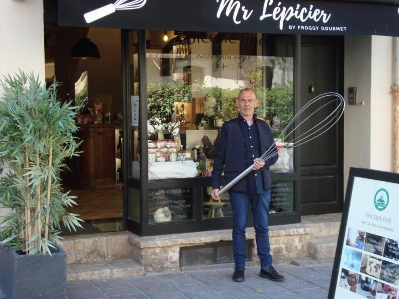 Bruno Lépicier, fondateur de Froggy gourmet.