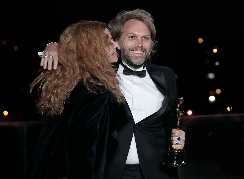 Florian Zeller a reçu l'Oscar du meilleur scénario pour son premier film The Father.