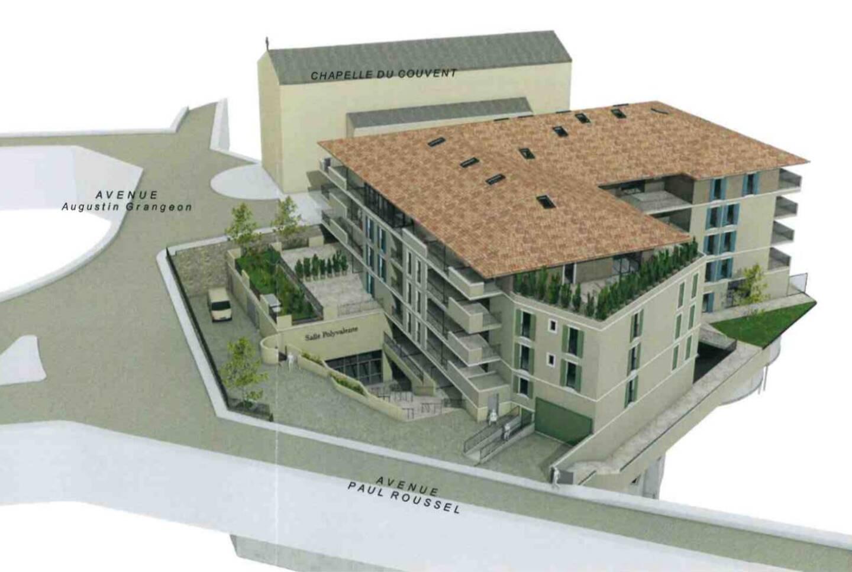 """""""La Voile d'or"""" comprendra 59 appartements ainsi qu'une salle polyvalente de 750m² ouverte au public."""