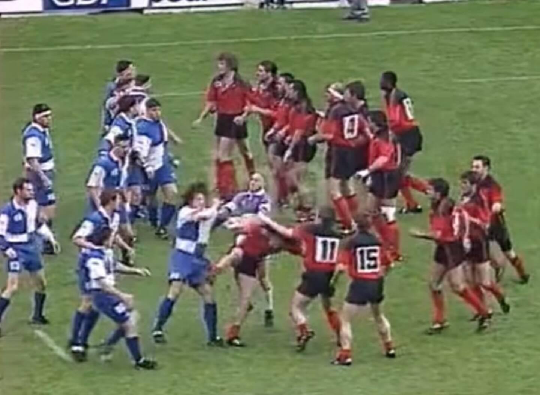 Plus qu'un match, le Toulon - Bègles de 1991 est devenu une légende à raconter aux minots les soirs d'orage.