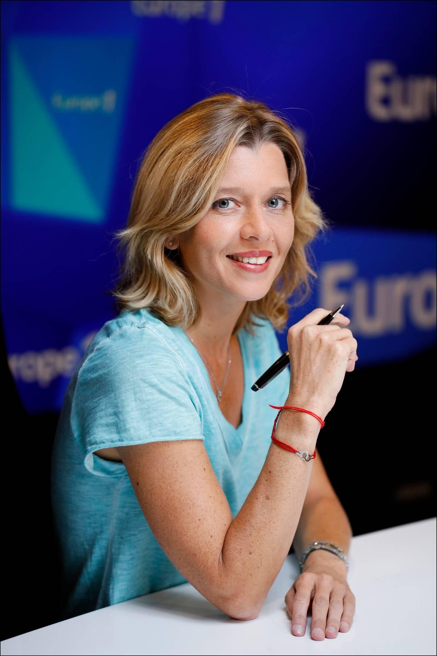 Wendy Bouchard est arrivée à Europe 1 en 2006.