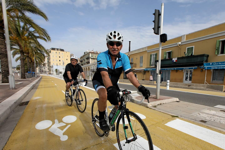 Christian Estrosi a présenté, hier, le plan vélo métropolitain pour les cinq années à venir. La piste cyclable au niveau du quai des États-Unis (notre photo) a été inaugurée en mai dernier.