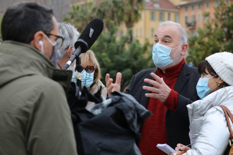 Jean-Marc Governatori, élu niçois d'opposition, coprésident de Cap écologie, négocie l'union, avec ce préalable: il veut être tête de liste dans les Alpes-Maritimes.