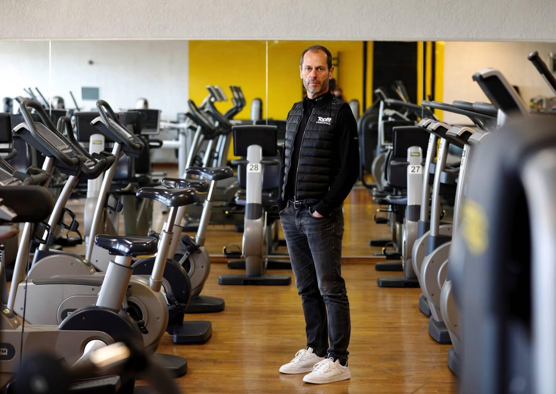 William Laurent, directeur général de Topfit qui compte deux centres de fitness à Antibes et Cagnes-sur-Mer.