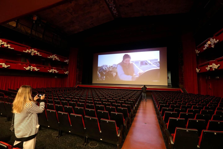 Pour sa réouverture, la grande salle de l'Ariston limite sa jauge à 190 places.