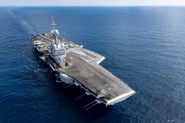 """Les produits de la marque """"Marine nationale depuis 1626"""" devraient également être commercialisés à bord des navires de guerre, dont le porte-avions Charles-de-Gaulle. Mais en prenant soin de ne pas concurrencer les produits vendus dans les coopératives qui permettent d'améliorer l'ordinaire. (Photo DR / Marine nationale)."""