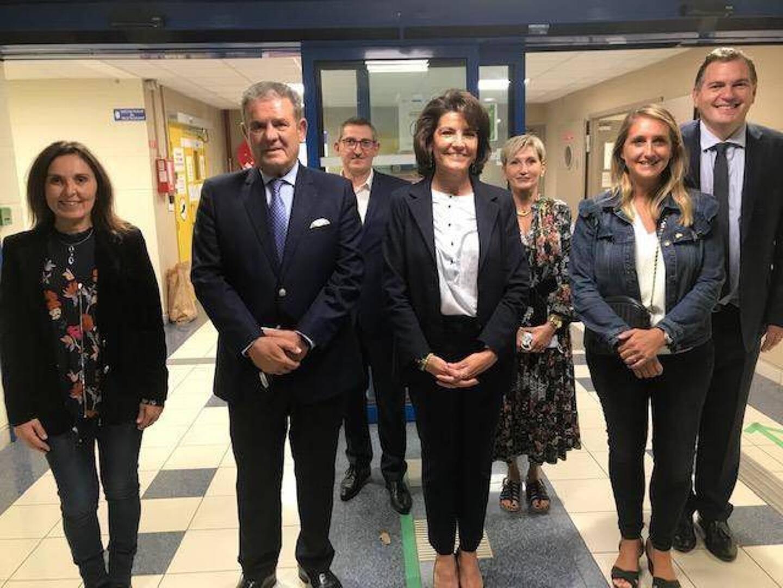 Les sénateurs azuréens LR élus en 2020: Patricia Demas, Henri Leroy, Dominique Estrosi-Sassone, Alexandra Borchio-Fontimp et Philippe Tabarot.