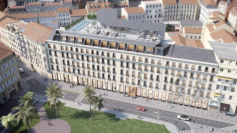 L'ex-Park hotel deviendra le Victoria-Maison Albar.