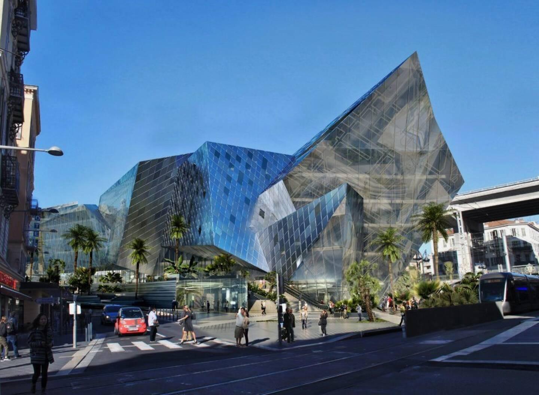 Au coeur d'Iconic, un futur Hilton Garden Inn.