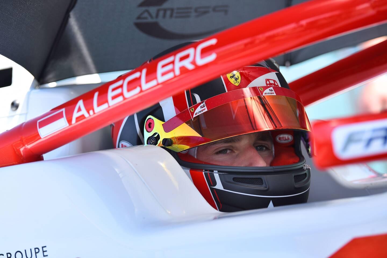 Arthur Leclerc espère grandir vite sur les circuits du championnat FIA F3.