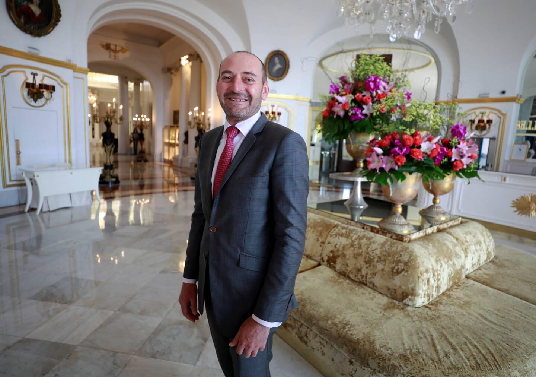Durant 6 mois, le directeur général du Negresco, n'est pas resté les bras croisés. Avec son équipe, il a réinventé une palace conciliant passé, présent et futur. (Photo Dylan Meiffret)