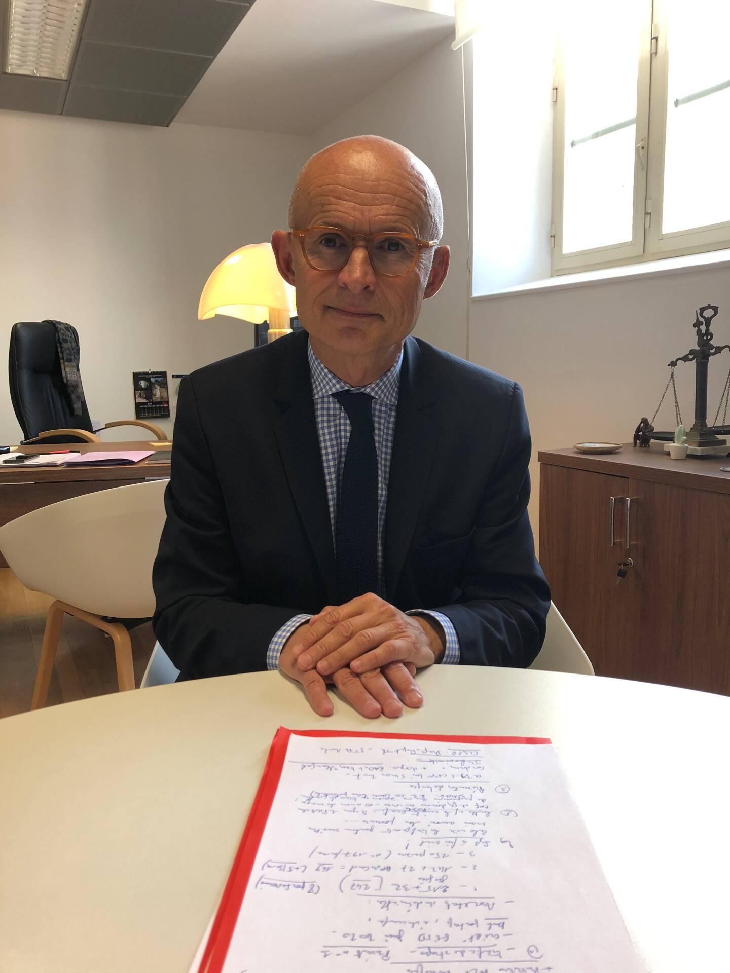 Xavier Bonhomme, procureur de la République de Nice.