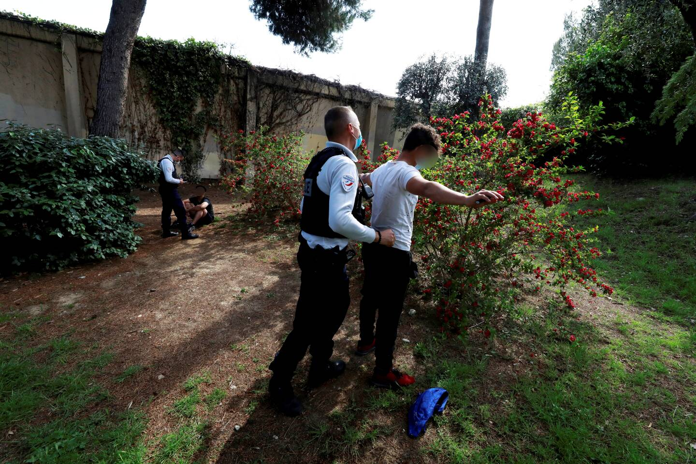 Une rixe a eu lieu, mardi 4 mai, devant le collège des Bréguières à Cagnes-sur-Mer.