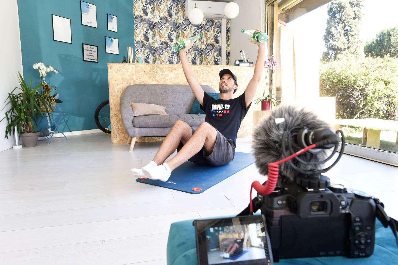 """Plusieurs vidéos liées au sport sont déjà en ligne sur la chaîne """" Training Plus """"."""