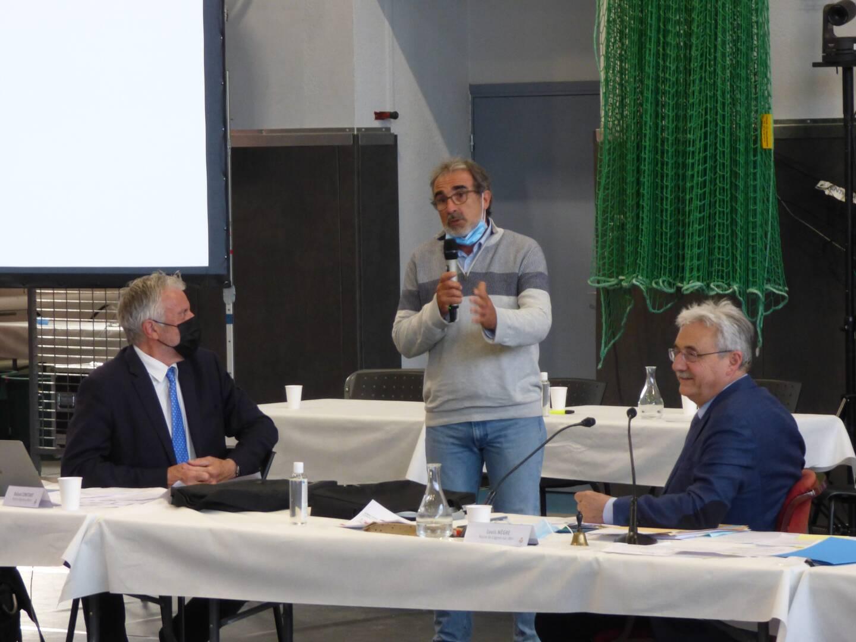Pierre Marcoul, le secrétaire de la nouvelle association repreneuse du centre culturel, est venu présenter brièvement le projet devant le conseil municipal ce jeudi soir.