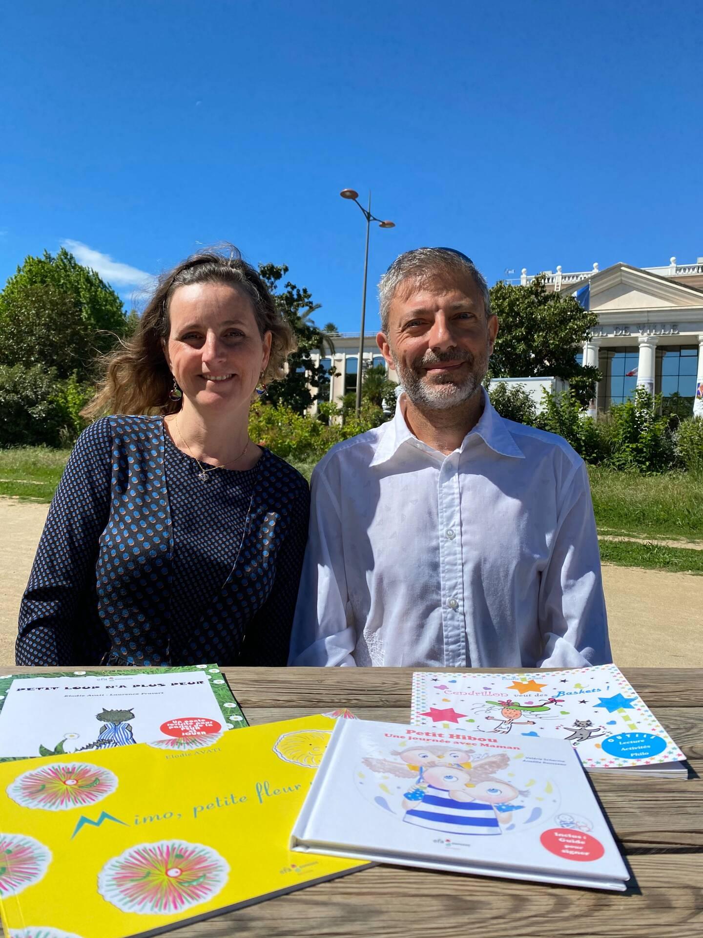 Elodie et Fabrice Avati ont créé EFA Editions à St Laurent du Var.