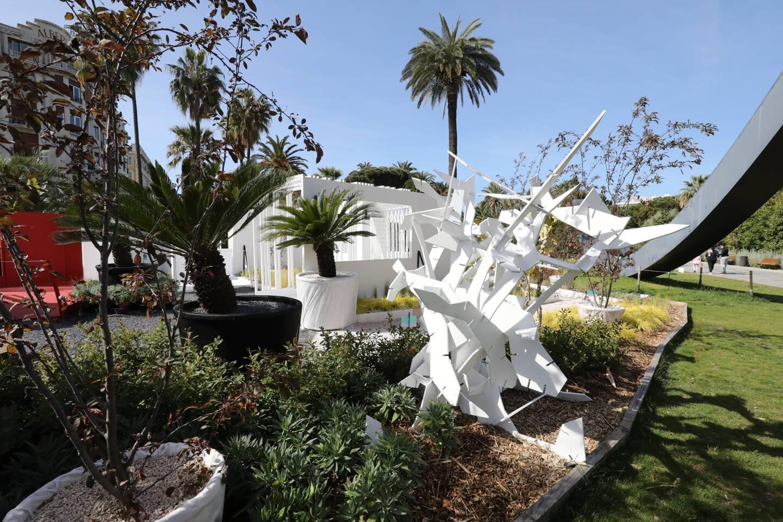 À Nice, trois jardins d'artistes sont exposés au côté d'autres créations éphémères  à Albert-Ier.