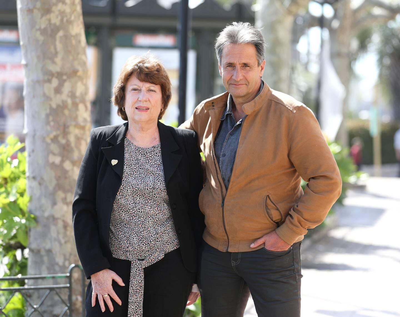 Josette Mimouni et Michel Rezk, candidats ''divers droite et Mouvement de la ruralité'' dans le canton de Roquebrune-Pays de Fayence.