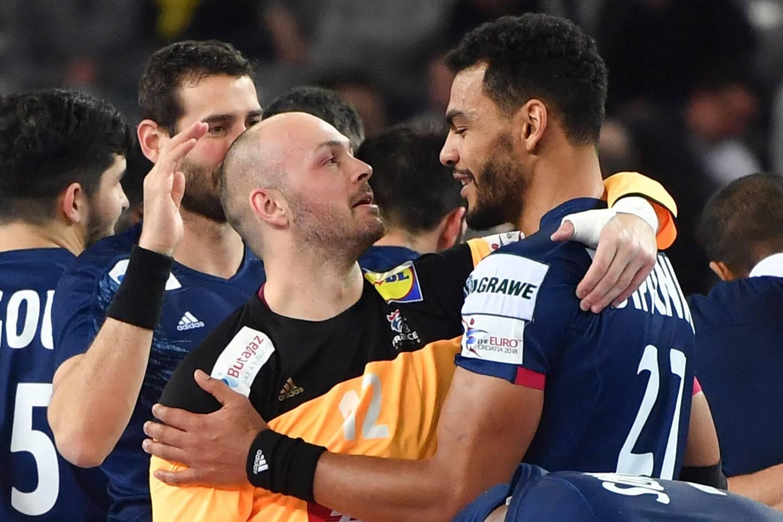 International français, Vincent Gérard (à gauche) pourrait retrouver Adrien Dipanda (à droite) à Saint-Raphaël à partir de l'année prochaine.
