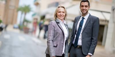 """Les conseillers municipaux Carine Leroy et Christopher Pecoul (RN) candidats à Saint-Raphaël au nom de """"la continuité"""""""