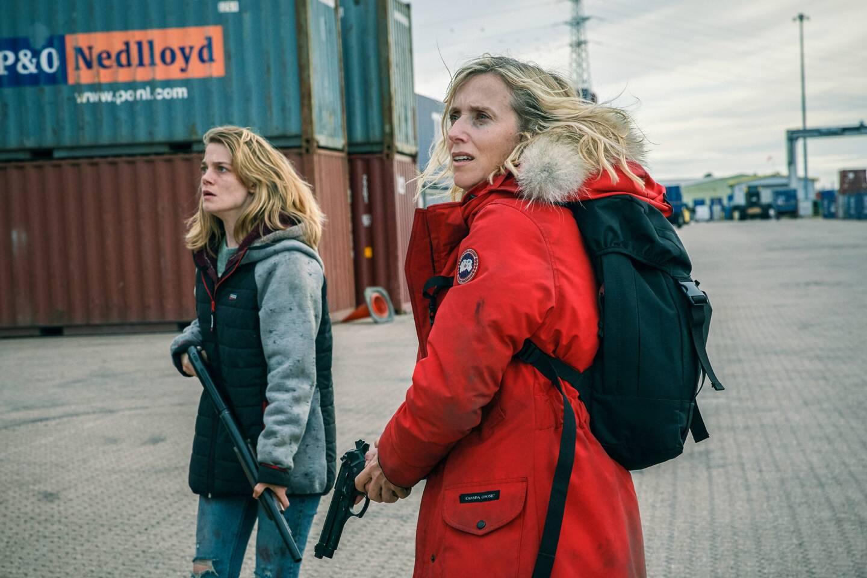 Émilie de Preissac et Léa Drucker. (Photo Simon Ridgway/Urban Myth Films/Canal +)
