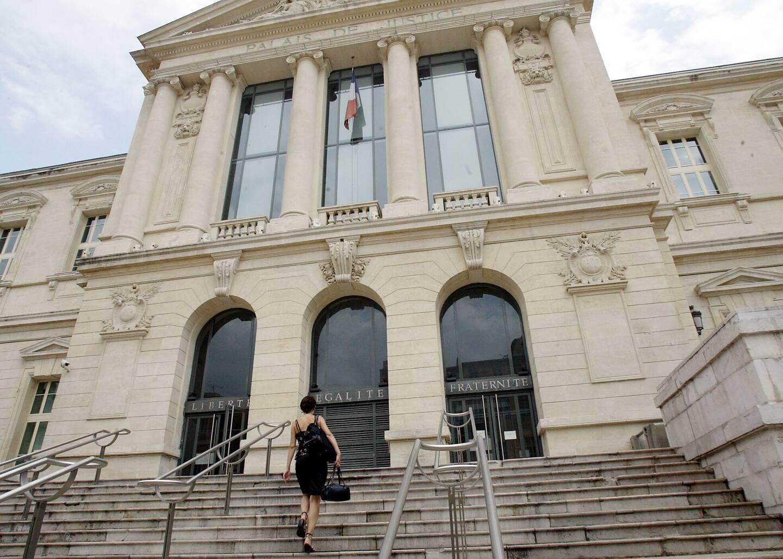 Le palais de justice de Nice, où s'est tenue l' audience du tribunal correctionnel (Photo François Vignola) NICE MATIN NICE/PALAIS DE JUSTICE