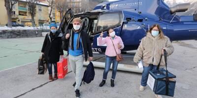 """""""Il est temps de retrouver un semblant de vie normale"""": un pilote d'hélico témoigne après avoir relié Nice et la Roya pendant 7 mois"""