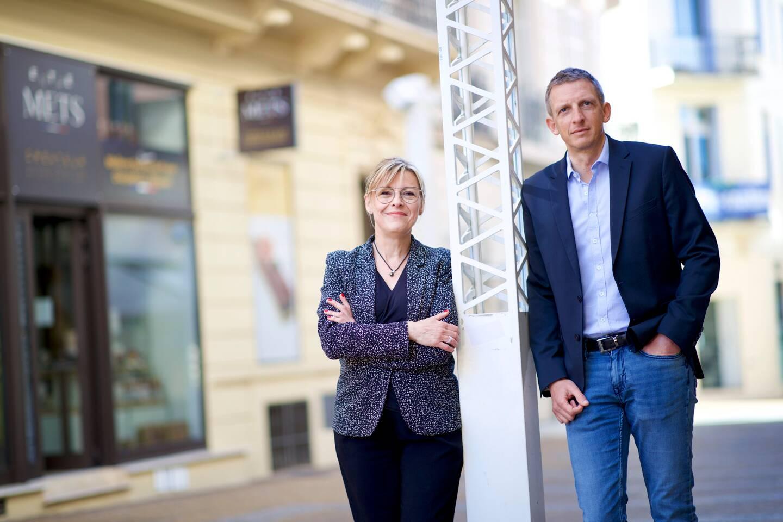 Brigitte Auloy (Fréjus) et Martial Cerrutti (Saint-Raphaël), candidats dans le canton de Fréjus, souhaitent rassembler les électeurs.