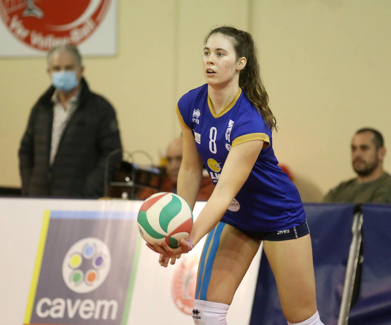 Emilie Respaut, la passeuse de l'Institut fédéral de volley-ball, en Ligue A, sera mobilisée tout l'été avec l'équipe de France. Objectif: l'EuroVolley 2021, dès la fin août.