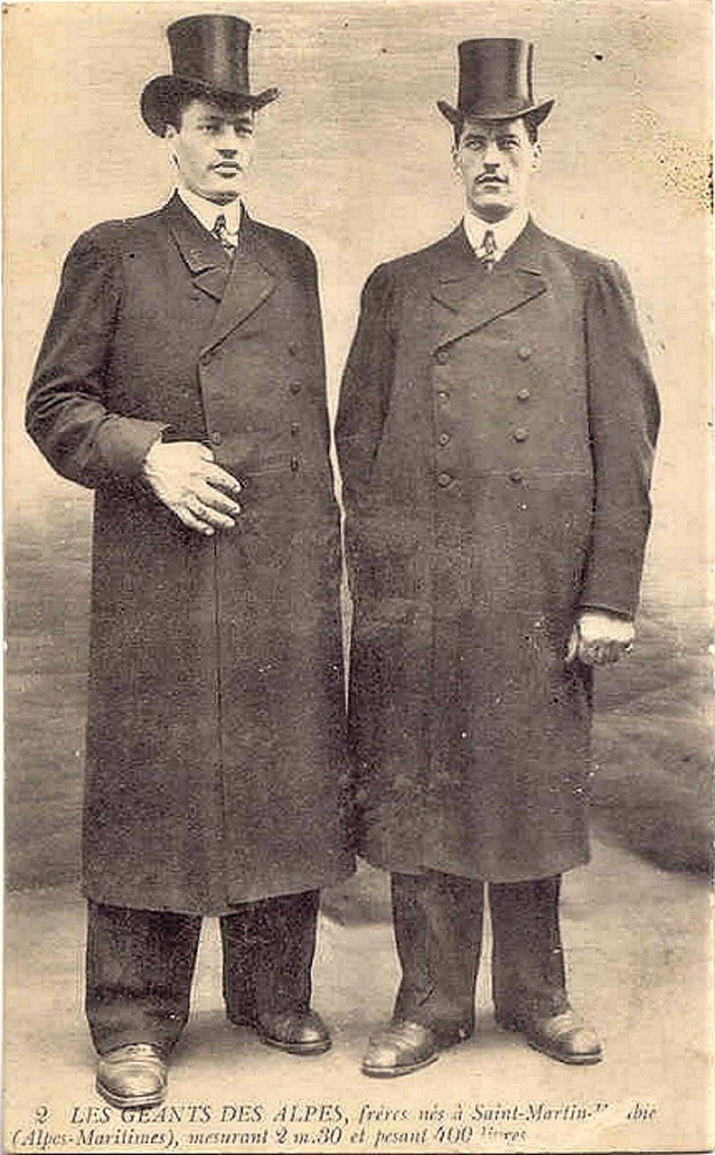Natifs de Saint-Martin-Vésubie à la fin du XIXe siècle, ces deux frères exceptionnels furent célèbres d'un bout à l'autre de l'Europe et même jusqu'aux Amériques.