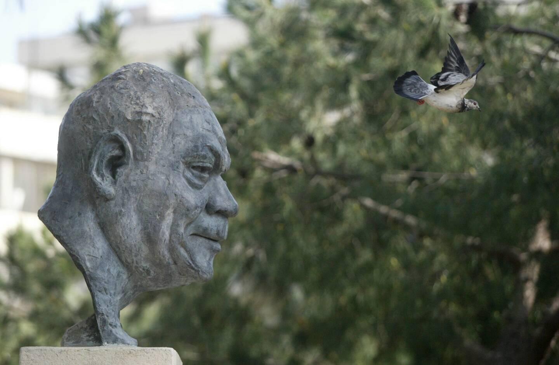 Depuis 1960, le visage de Sidney Bechet trône à Juan-les-Pins.