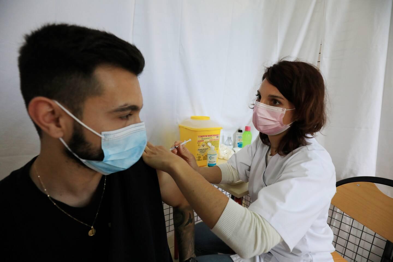 La vaccination des personnes âgée de 18 ans est lancée. (Photo F. Bouton)