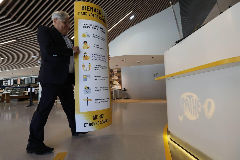 Mario Tommasini, patron des cinémas Pathé de Nice, prépare la réouverture du dernier-né, Gare du Sud.