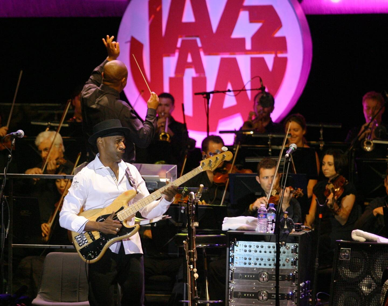 Marcus Miller ne viendra pas cet été à Juan-les-Pins. (Photo Frantz Bouton)