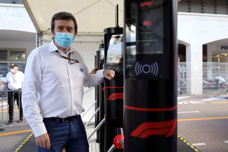 Bruno Famin, responsable des protocoles anti-Covid de la FIA.