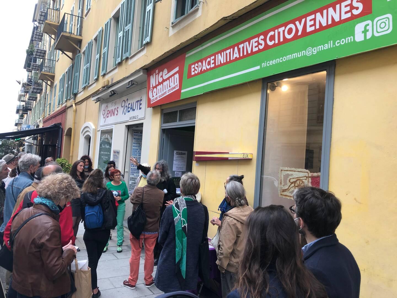 """Un nouvel """"espace d'initiatives citoyennes"""", rue François-Guisol."""