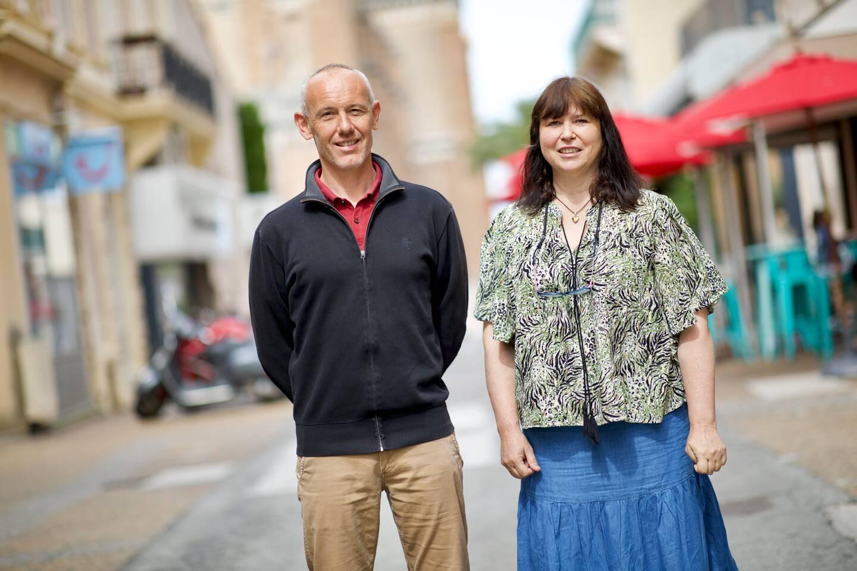Guillaume Ollier et Nathalie Oudot porteront les couleurs d'EELV dans le canton de S-Raphaël.
