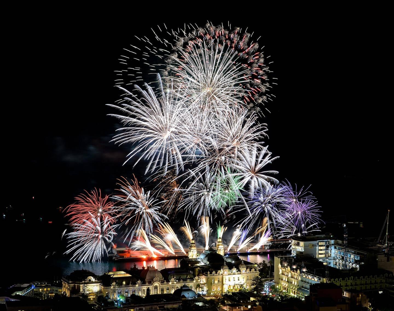Chaque année, quatre soirées de feux d'artifices rythment l'été monégasque. (Photo archives Monaco-Matin)