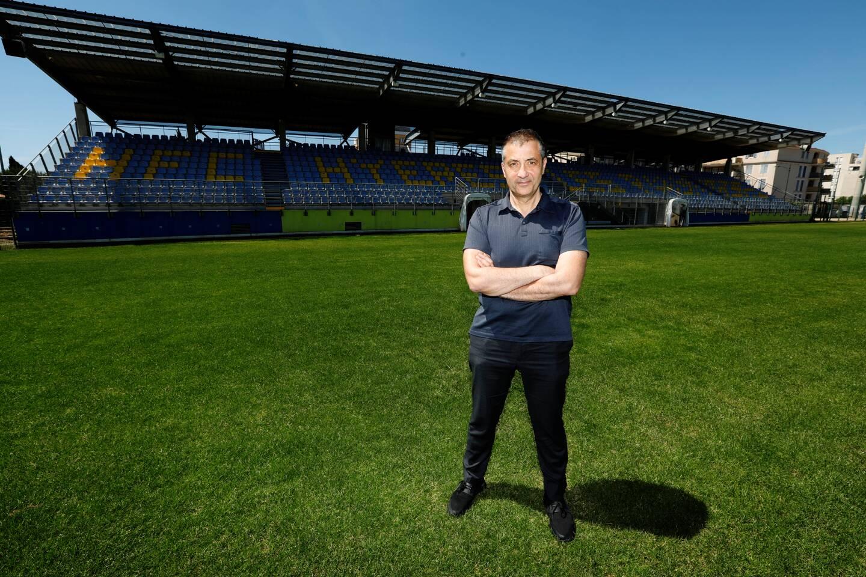 Perruc va subir quelques aménagements avant que le club ne déménage vers un nouveau stade, à construire...