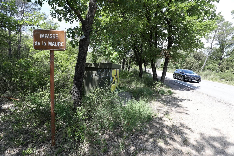 """L'installation photovoltaïque est envisagée au lieu-dit """"LaMaure"""" à proximité de la RD557, sur un site boisé de 24ha, actuellement classé en zone naturelle."""