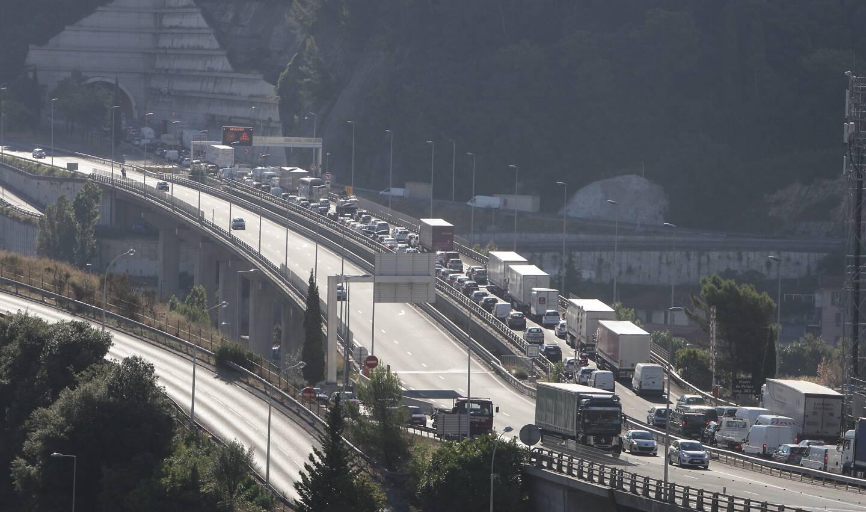 La bretelle d'entrée de l'échangeur de Nice Est sera fermée en direction de l'Italie, pour les deux week-ends à venir.