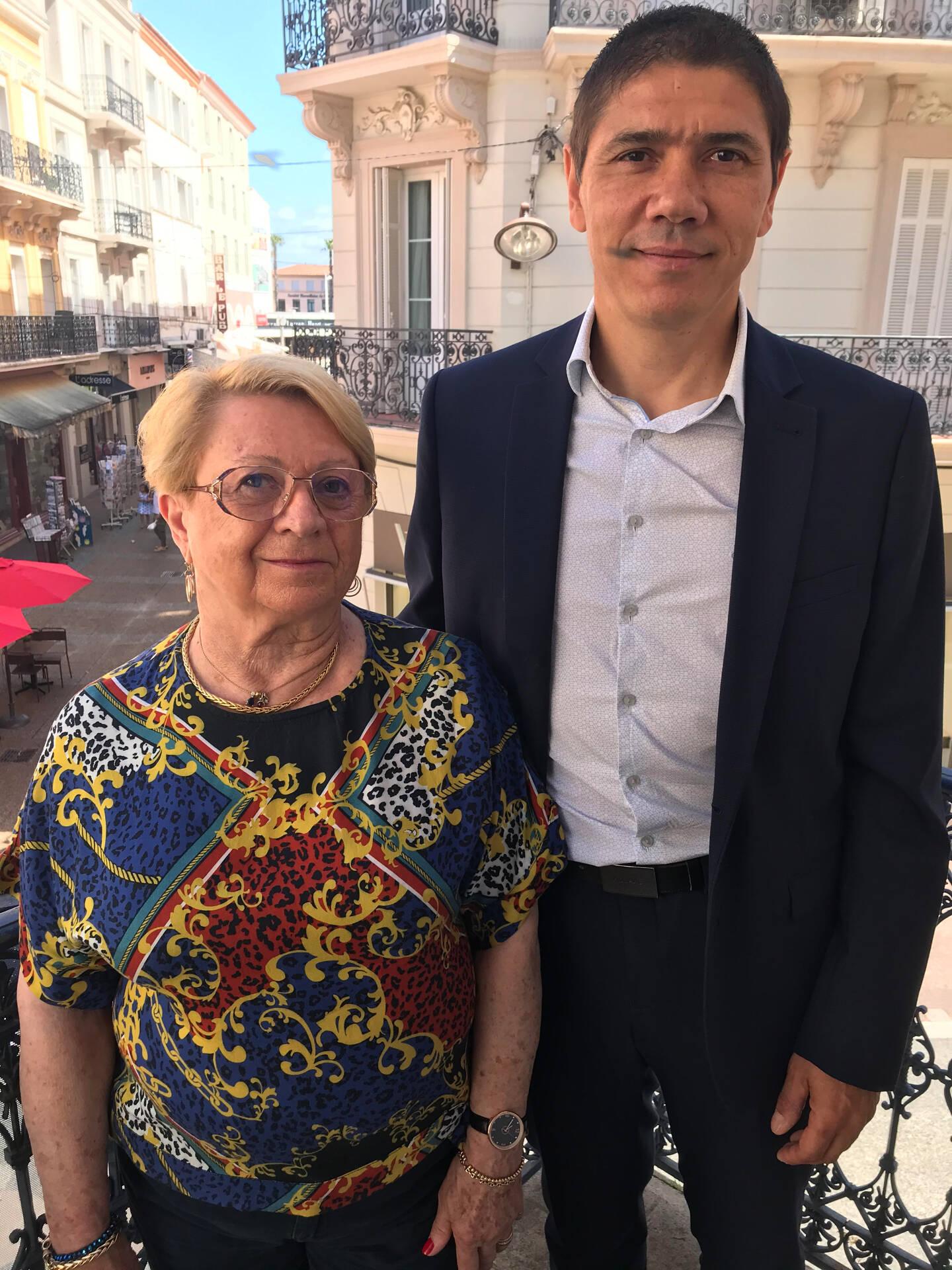 Maryse Cros-Frayssinhes et Jérôme Orlandini sont soutenus par la majorité présidentielle et Var écologie.